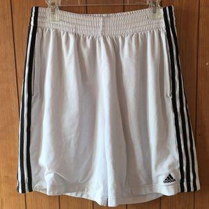 "Adidas 10"" inseam shorts"
